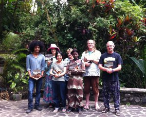 Chiyanike at Mbira Camp in Bali