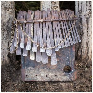 An old Chiyanike family mbira