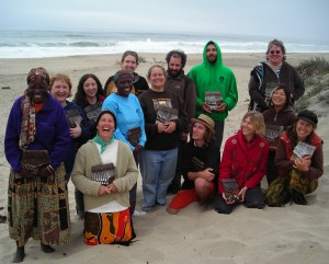 Mbira Camp at the Beach 2008