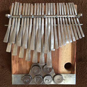 mbira made by Leonard Chiyanike