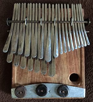 mbira made by Josephat Mandaza