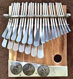mbira made by Gift Rushambwa