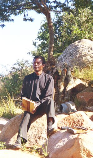 Fradreck Mujuru 1996 at His Village Home
