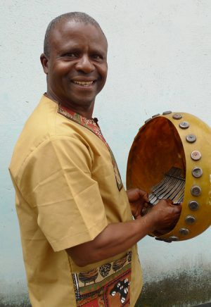 Fradreck Mujuru with Mbira 2014
