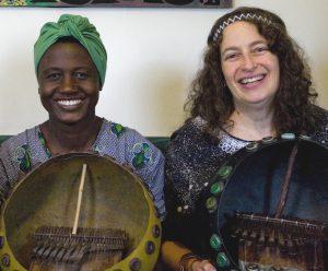 Patience Chaitezvi & Erica Azim in Berkeley, CA, USA in 2008