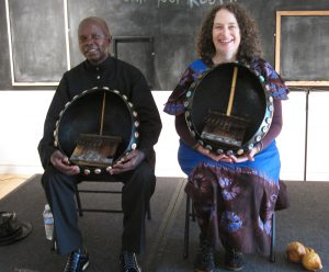 Leonard Chiyanike & Erica Azim Perform at the Museum of the African Diaspora, San Francisco in 2012