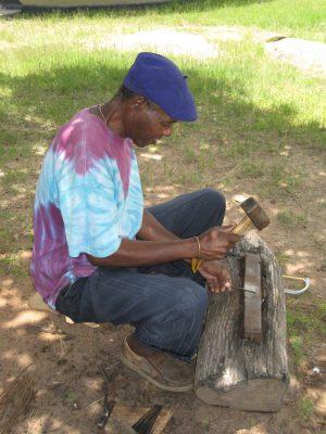 Tute Chigamba at work 1