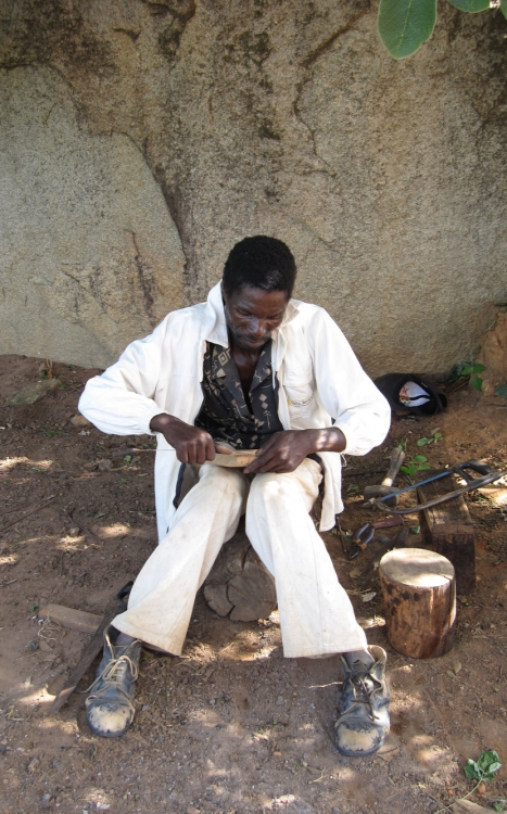 Charles Ruhukwa at work 2