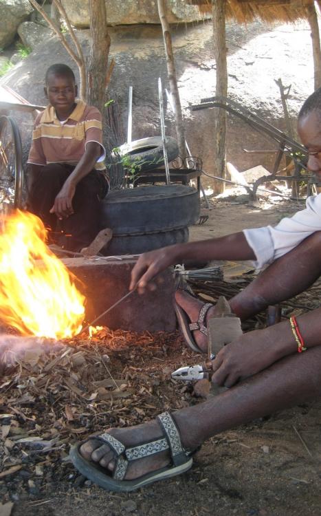 Murawo Tembedza at work 1
