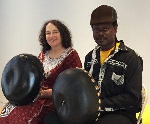 Erica Azim & Samaita Botsa perform at the Museum of the African Diaspora, San Francisco 2015