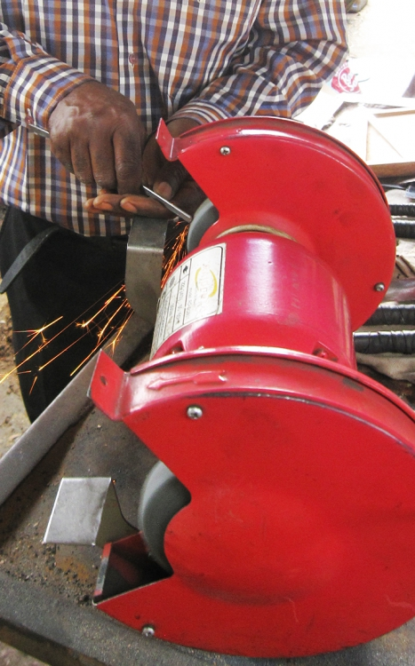 Fradreck Mujuru grinding key