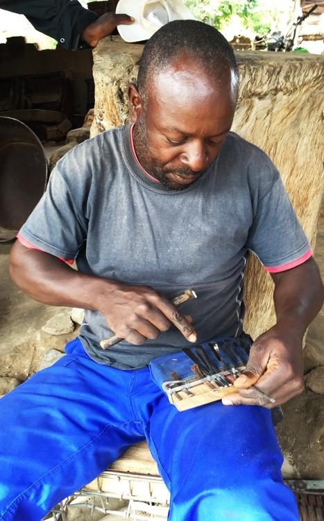 Munashe Chivese testing keys