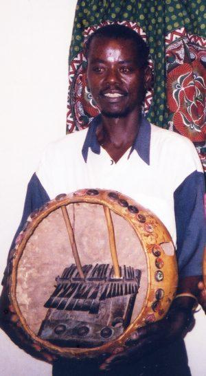 Murawo Tembedza and his mbira 2003