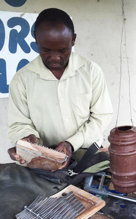 Sam Mujuru at work 3