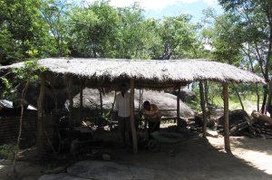 Murawo Tembedza's mbira workshop