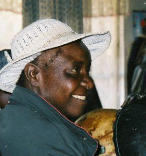 Jenny Muchumi in Harare 2002
