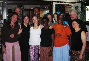 Jenny Muchumi at 2008 mbira camp party