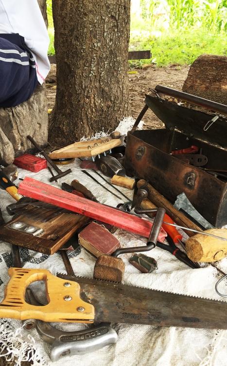 Romeo Mhondiwa's tools