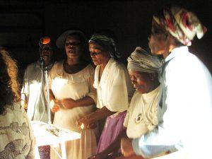 Recording Mudewairi Village Singers