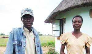 Alois Mutinhiri & wife 2009