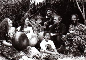 Erica Azim & Mutupo mbira group singing 1991