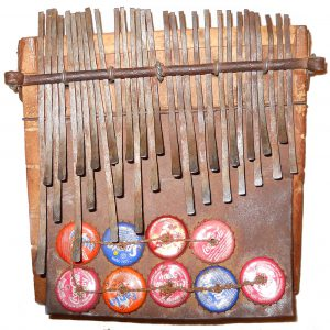 Mbira dzaVaNdau made by Zombiyi Muzite