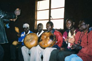 Alois Mutinhiri & Mhondoro Mbira Group with friends 2002
