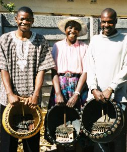 Muda Magaya, Jenny Muchumi and Simon Hoto 2002