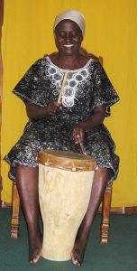 Patience Chaitezvi drumming 2009