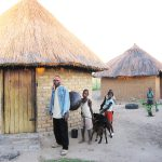 In 2009, Alois Mutinhiri shows what he has done with his earnings from cassette and CD sales: houses built, goats and farming equipment bought!