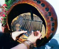 Erica hands on Dambatsoko mbira