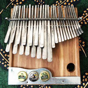 Gandanga tuning mbira by Tute Chigamba