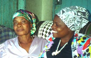 Irene Chigamba and her Mother 1999