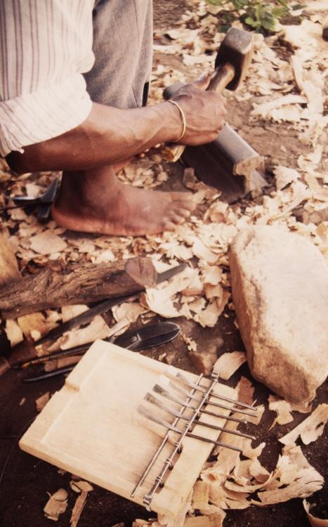 Chigamba hammering