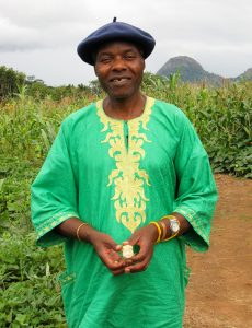 Tute Chigamba at birth village 2010