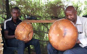 Tiri Chiongotere and son playing mbira 2019