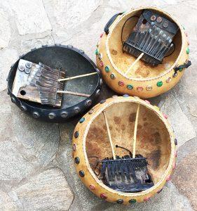 Dzapasi Mbira Group's mbiras (2016)